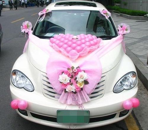 Украшение своими руками на свадебный автомобиль