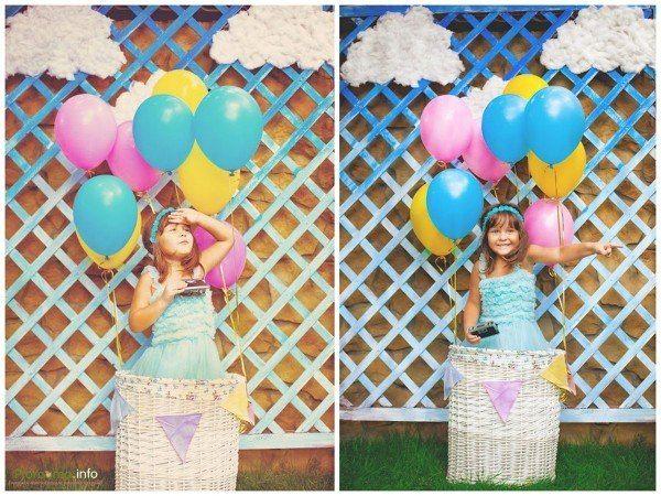 Как сделать оформление с воздушными шарами